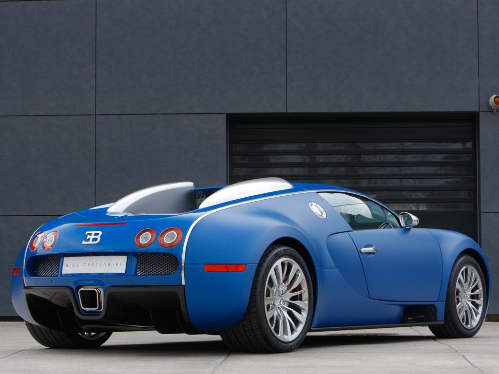 2009 Bugatti Veyron Bleu Centenaire Thumbnail Image