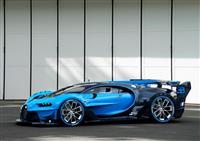 Bugatti Vision Gran Turismo Concept Information
