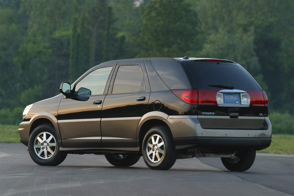 2004 Buick Rendezvous Pictures, History, Value, Research ...