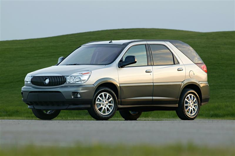 Buick Rendezvous Image on 2003 Buick Rendezvous Red