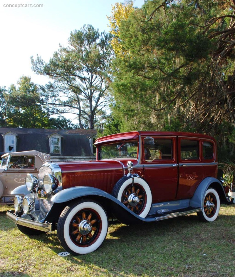 1931 Buick Series 50 At The Hilton Head Concours D