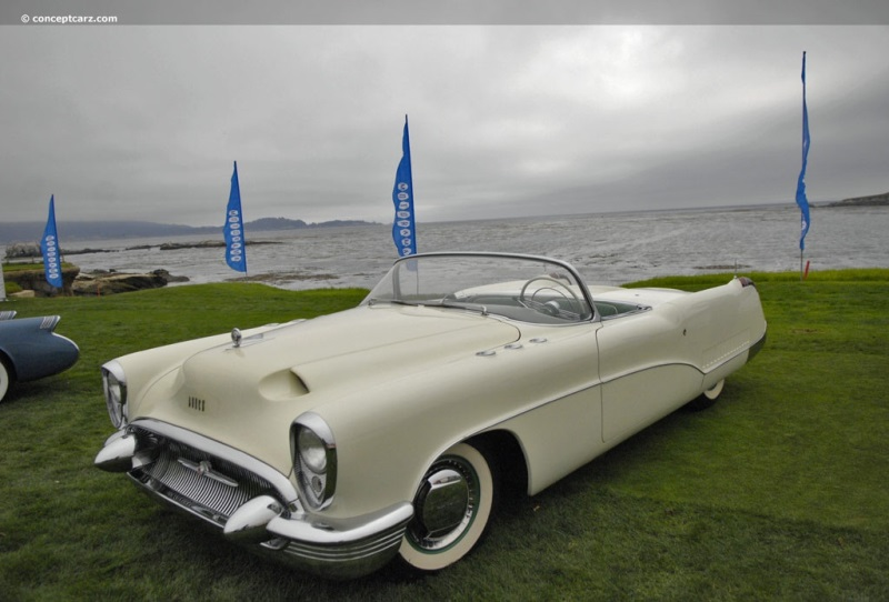 1953 Buick Wildcat I History Pictures Value Auction Sales