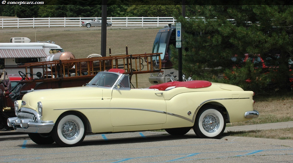 1953 Buick Series 70 Roadmaster Image Chassis Number 17055106