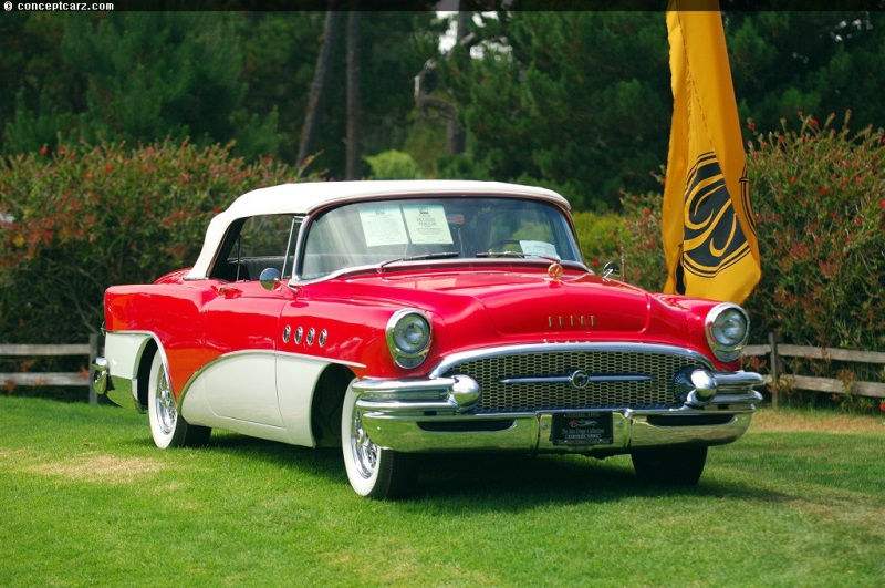 1955 Buick Roadmaster Series 70 Image Chassis Number B5020665