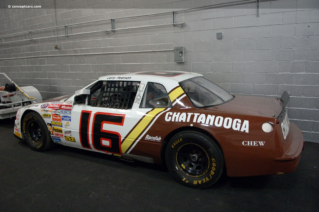 Auction Results And Sales Data For Buick Regal NASCART Stock Car - Buick stock