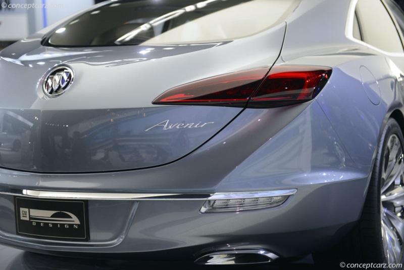 2015 Buick Avenir Concept Image Photo 17 Of 42