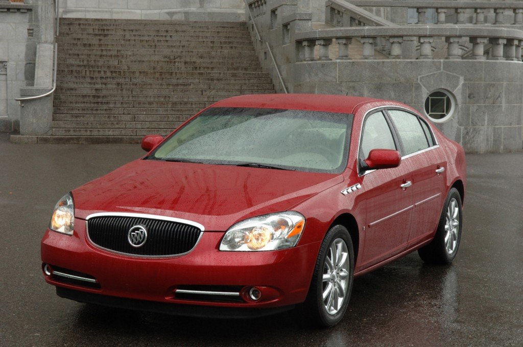 2007 buick lucerne history  pictures  value  auction sales