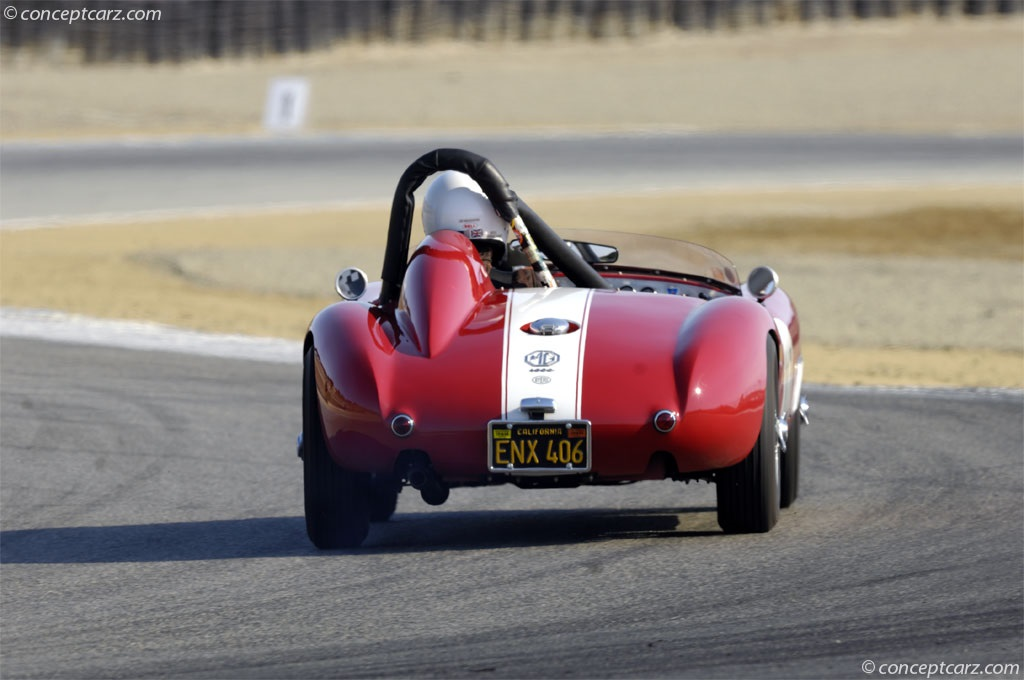 1959 Byers MGA Special Image. Chassis number GHNL 73459