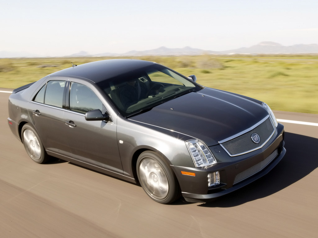 2005 Cadillac Sts Sae 100 History Pictures Value