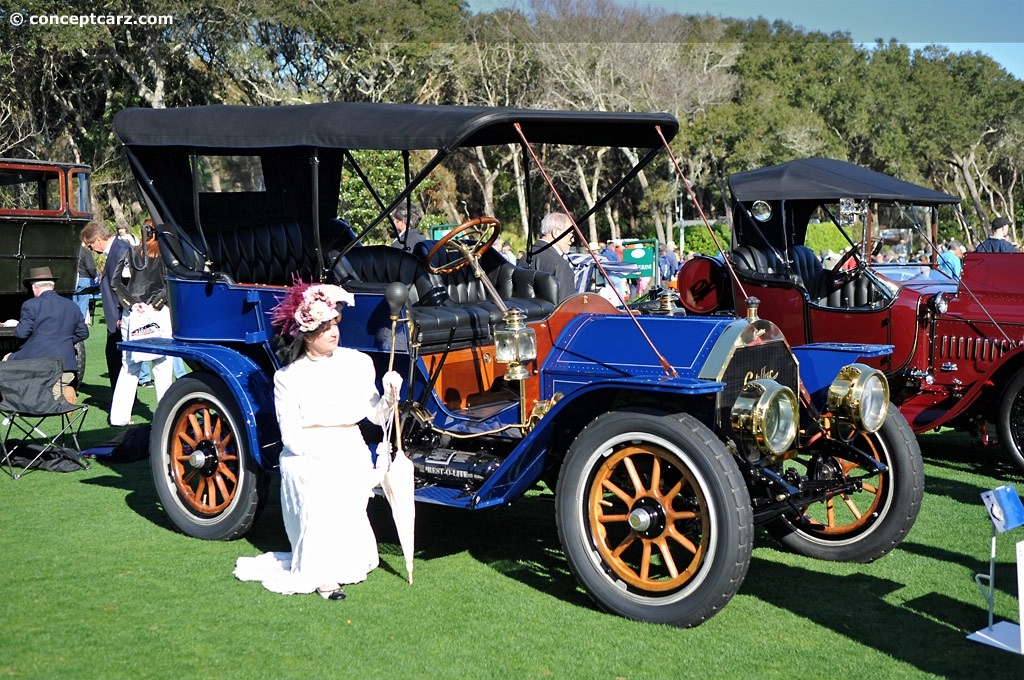 1909 Cadillac Model 30 History, Pictures, Value, Auction ...