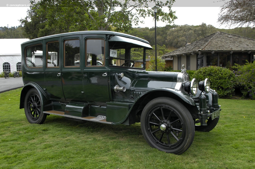 1915 Cadillac Model 51 Image Chassis Number 145wb8c