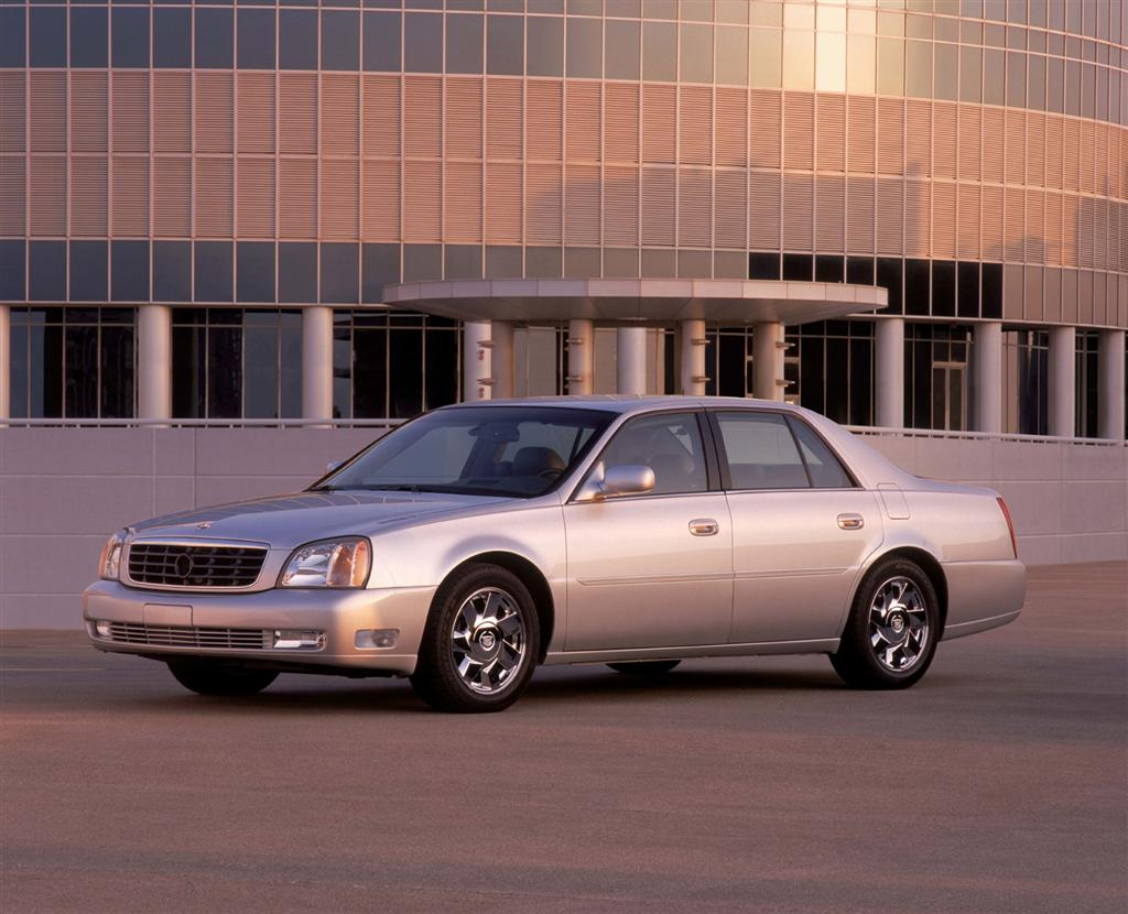 2003 Cadillac DeVille History Pictures Value Auction