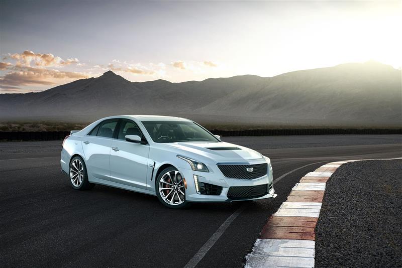 2018 Cadillac CTS-V Glacier Metallic