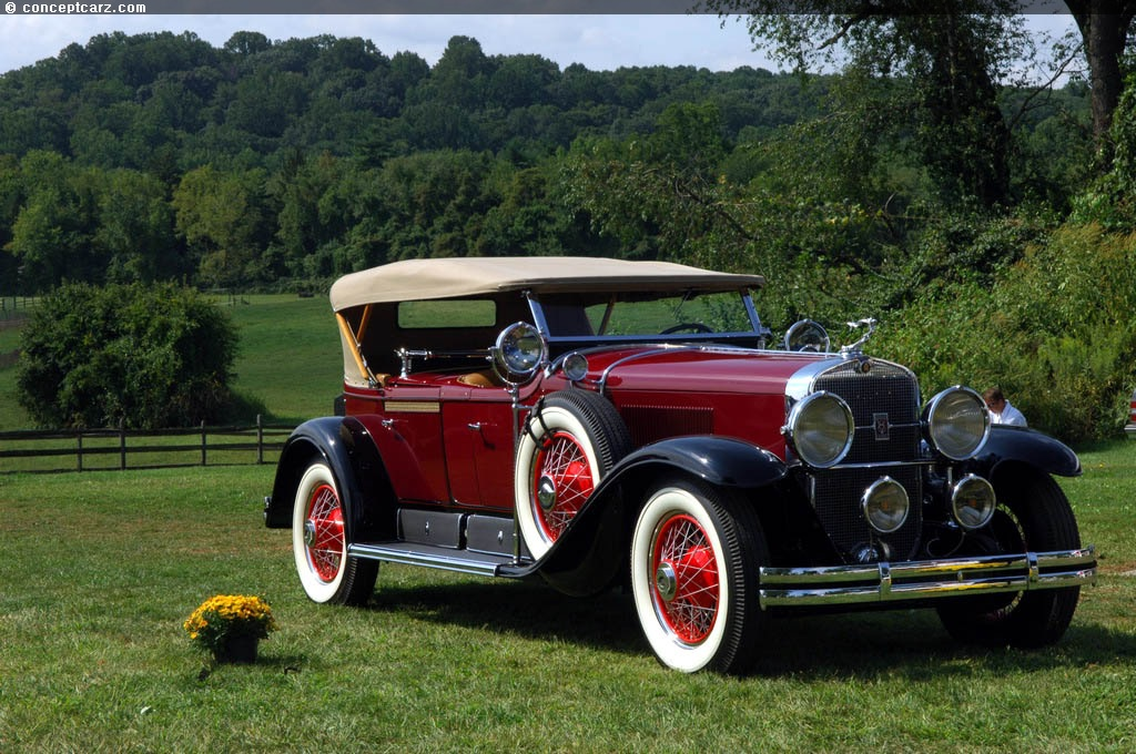 Auction Results and Sales Data for 1928 Cadillac Series 341A