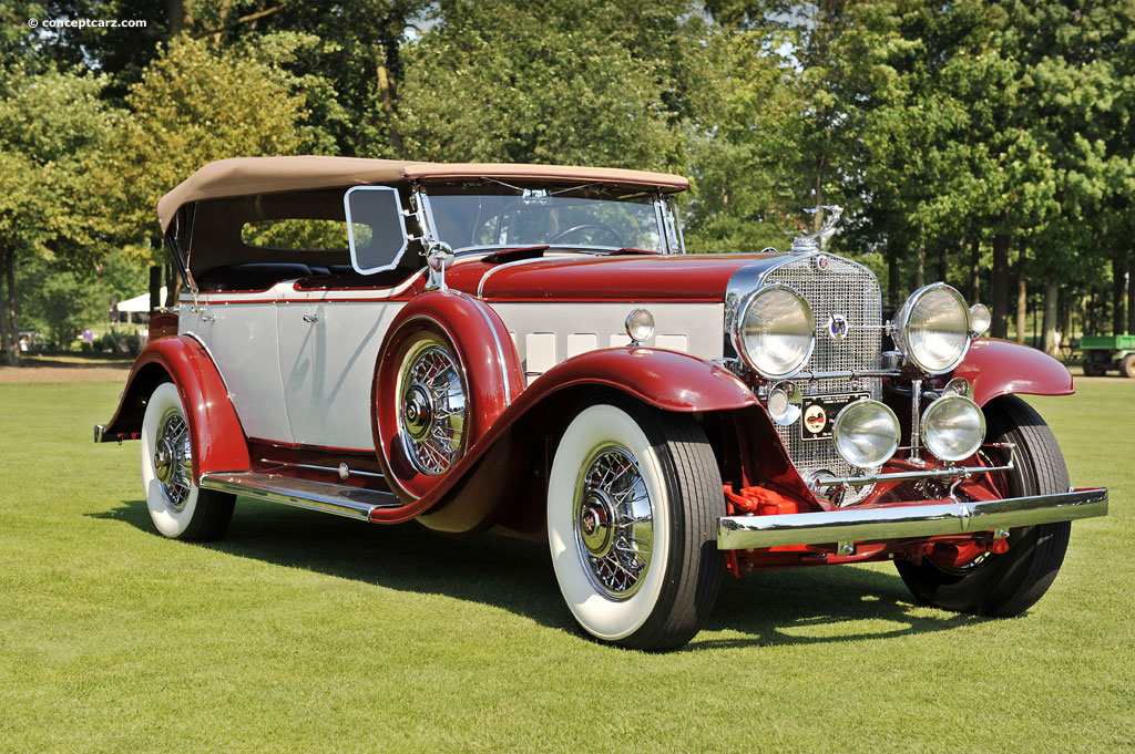 Auction Results and Sales Data for 1931 Cadillac 370A V12