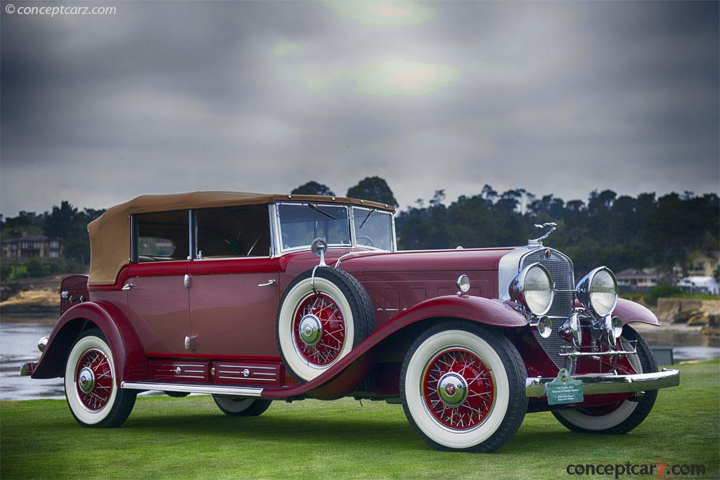 1931 Cadillac 452A V 16 History Pictures Value Auction