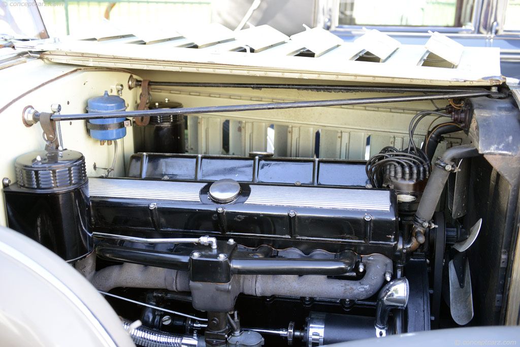 1932 Cadillac 452b V16 Image Chassis Number 2458869