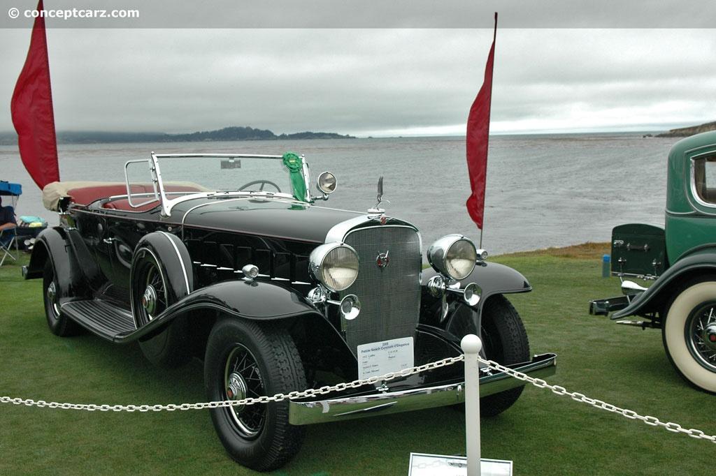1932 Cadillac 452B V16 At The 58th Annual Pebble Beach