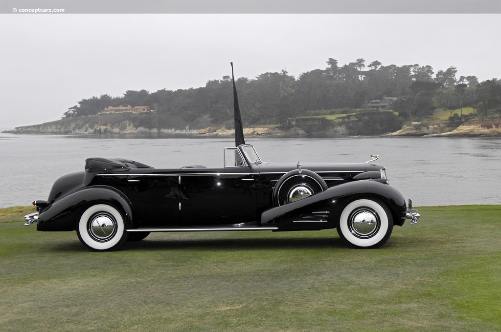 1934 Cadillac 452D V16 At The Pebble Beach Concours DElegance