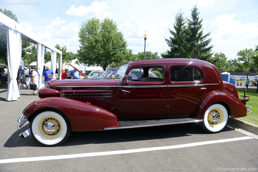 1934 Cadillac Model 370-D Twelve History, Pictures, Value, Auction Sales, Research and News