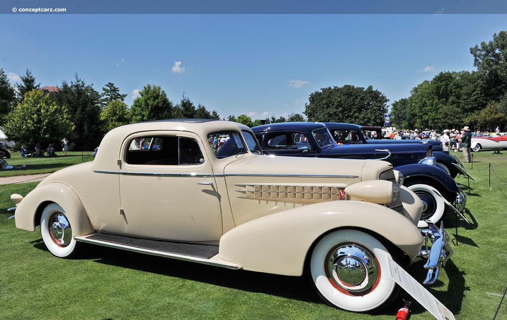 1934 Cadillac Model 355 D Image
