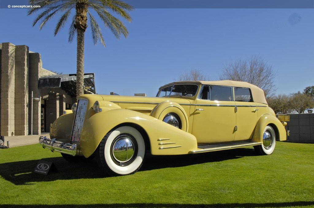 1935 Cadillac Model 452 D Series 60 Image Chassis Number