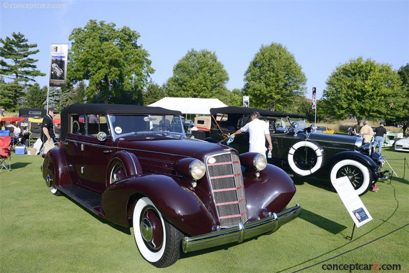 1935 Cadillac Model 355