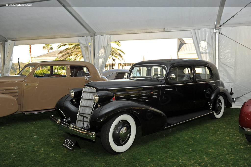 1935 Cadillac Model 355 History Pictures Sales Value