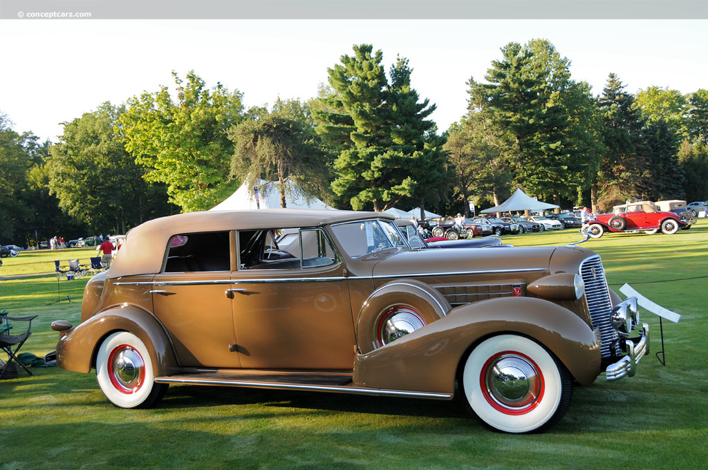 Auction Results and Sales Data for 1936 Cadillac Series 70