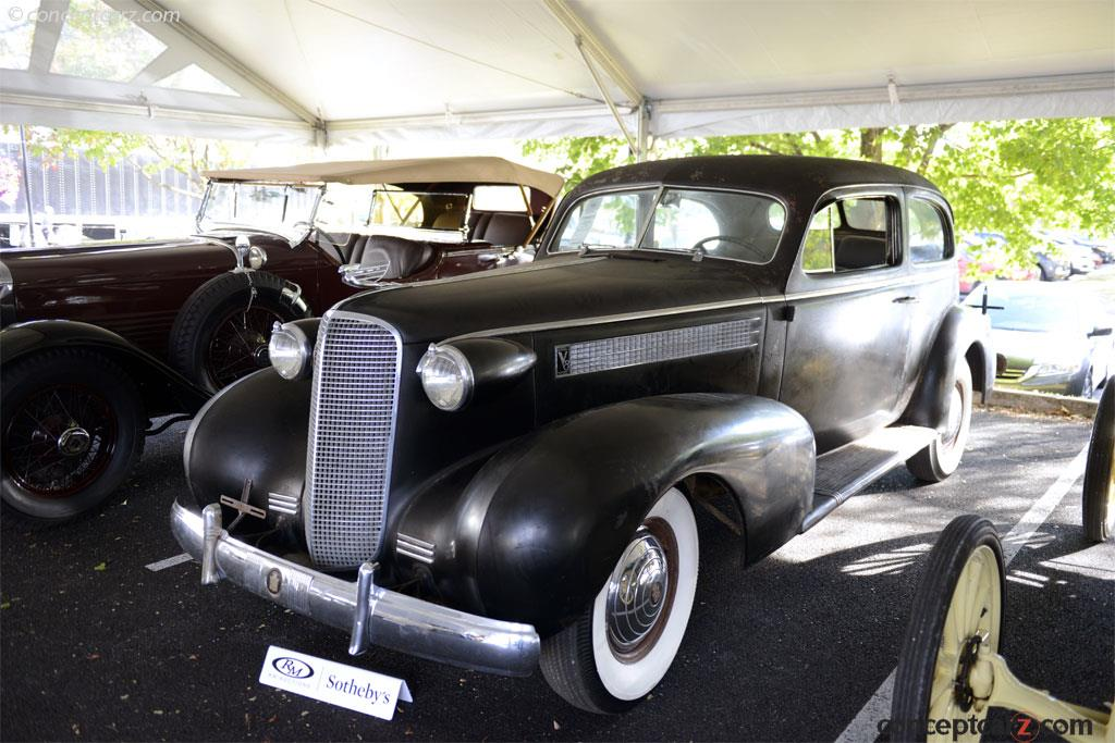 Auction Results and Sales Data for 1937 Cadillac Series 60