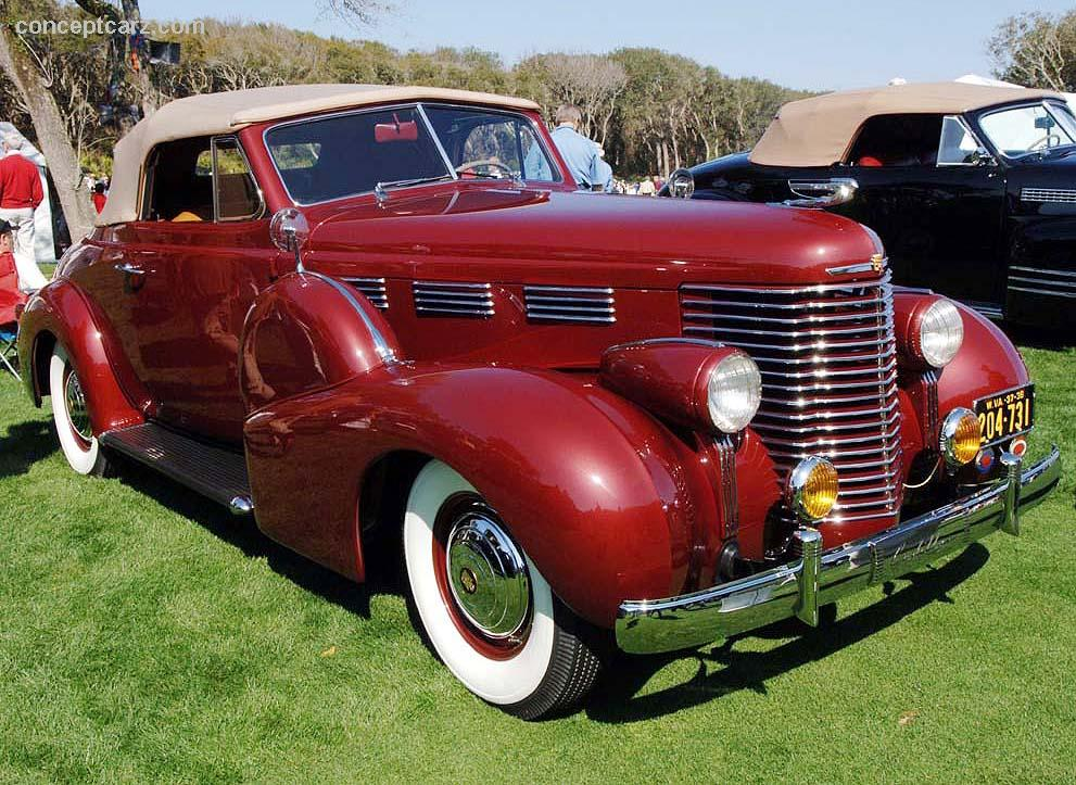 Auction Results and Sales Data for 1938 Cadillac Series 60
