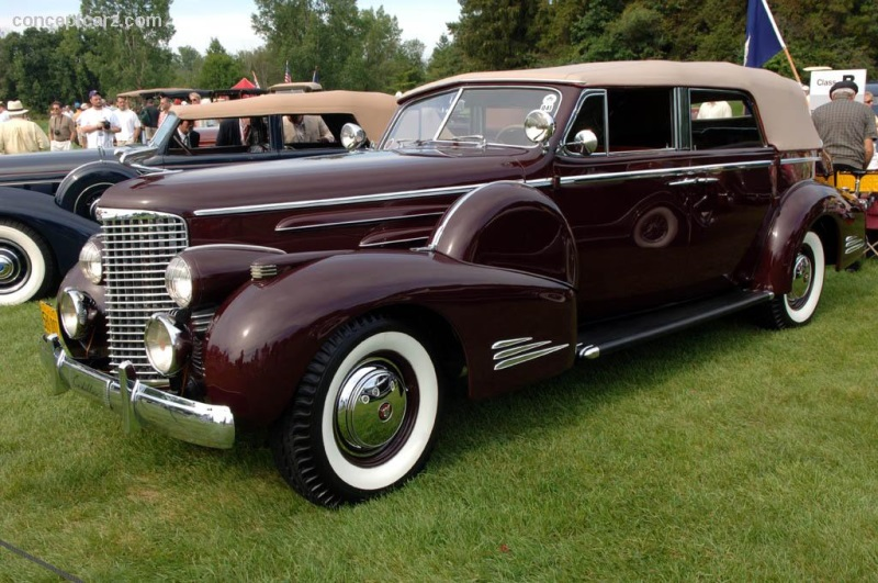 1938 Cadillac Series 90 Image. Chassis number 5270181 ...