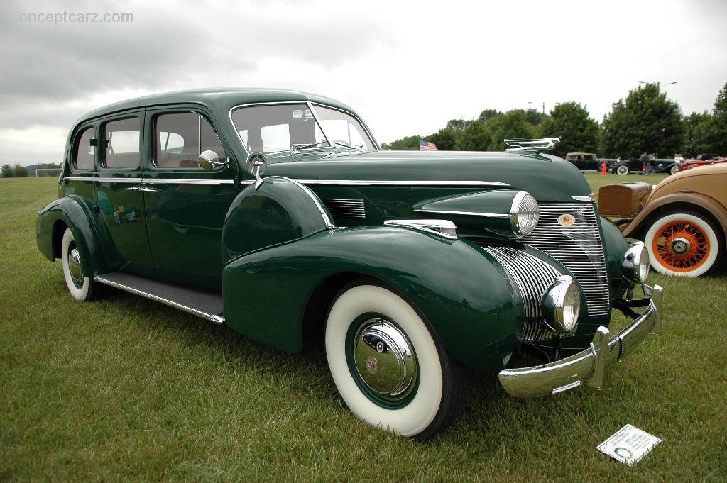 Auction Results and Sales Data for 1939 Cadillac Series 90
