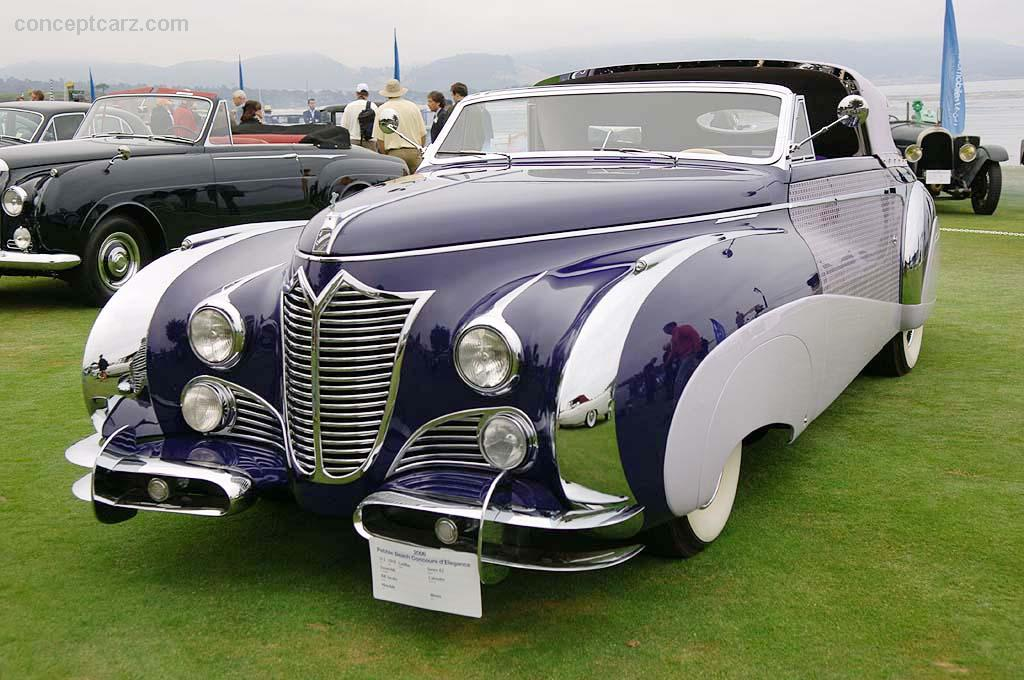 1948 Cadillac Saoutchik Series 62 Image Chassis Number
