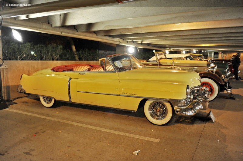 1950 Cadillac Series 62 Convertible Coupe 506276324 Chis Information
