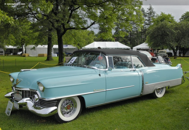 1954 Cadillac Series 62 Image. Chassis number 546280500 ...