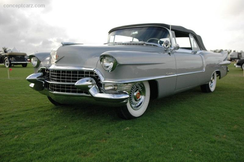 1955 Cadillac Eldorado At The Palm Beach International
