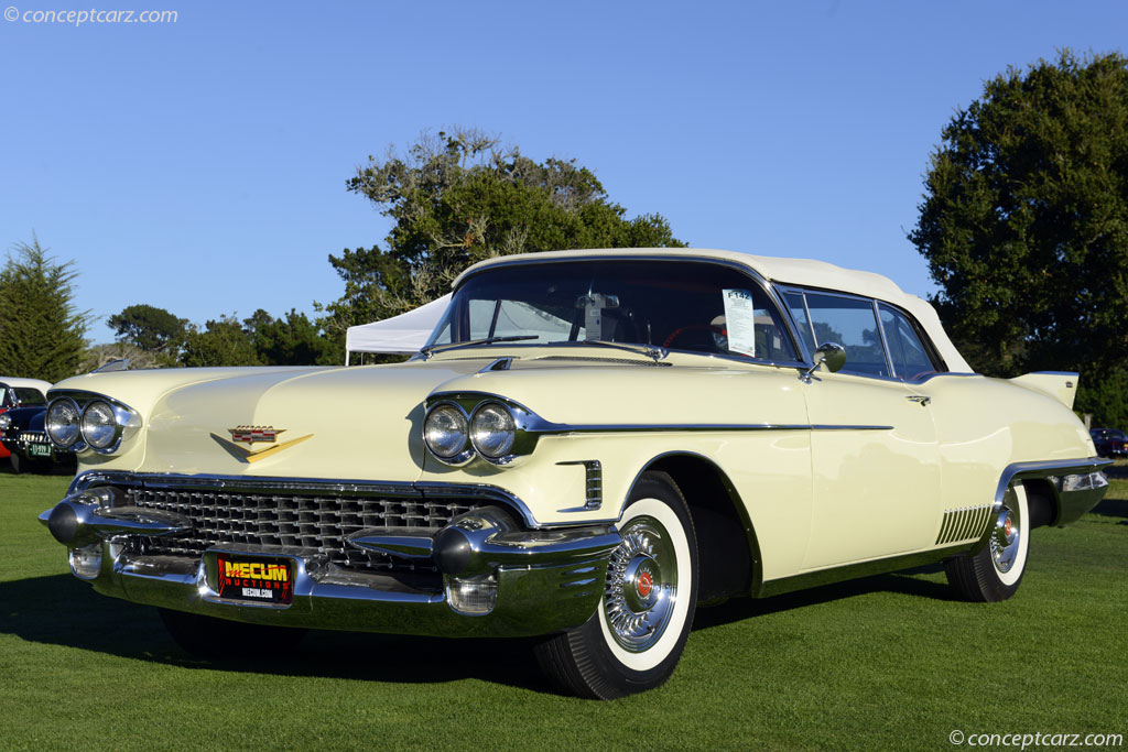 Cadillac Price >> 1958 Cadillac Series 62 Image. Chassis number 58E023399. Photo 19 of 96