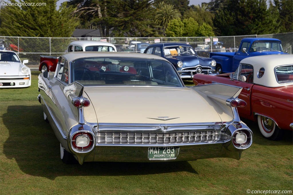 1959 Cadillac Series 62.  Chassis number 59J118089