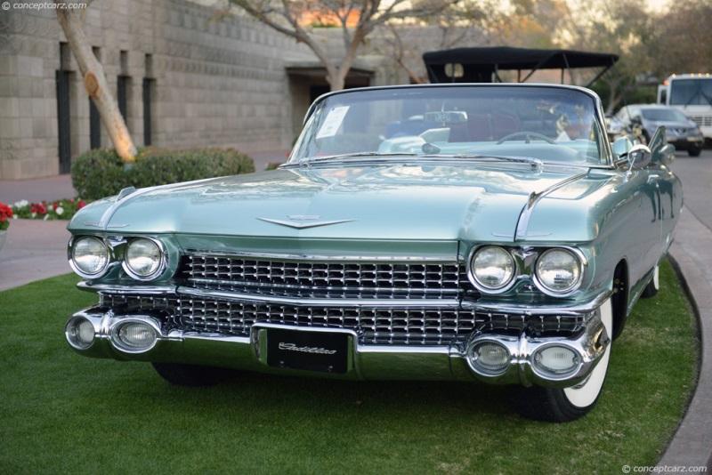 1959 Cadillac Eldorado Biarritz History Pictures Value Auction