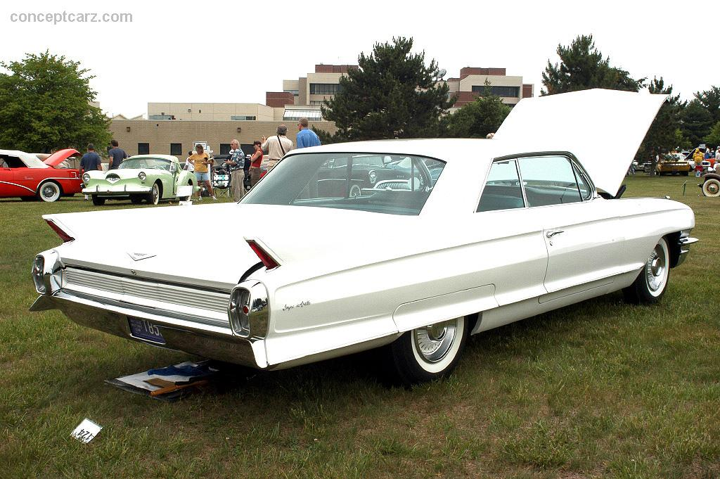 Auction Results and Sales Data for 1962 Cadillac DeVille