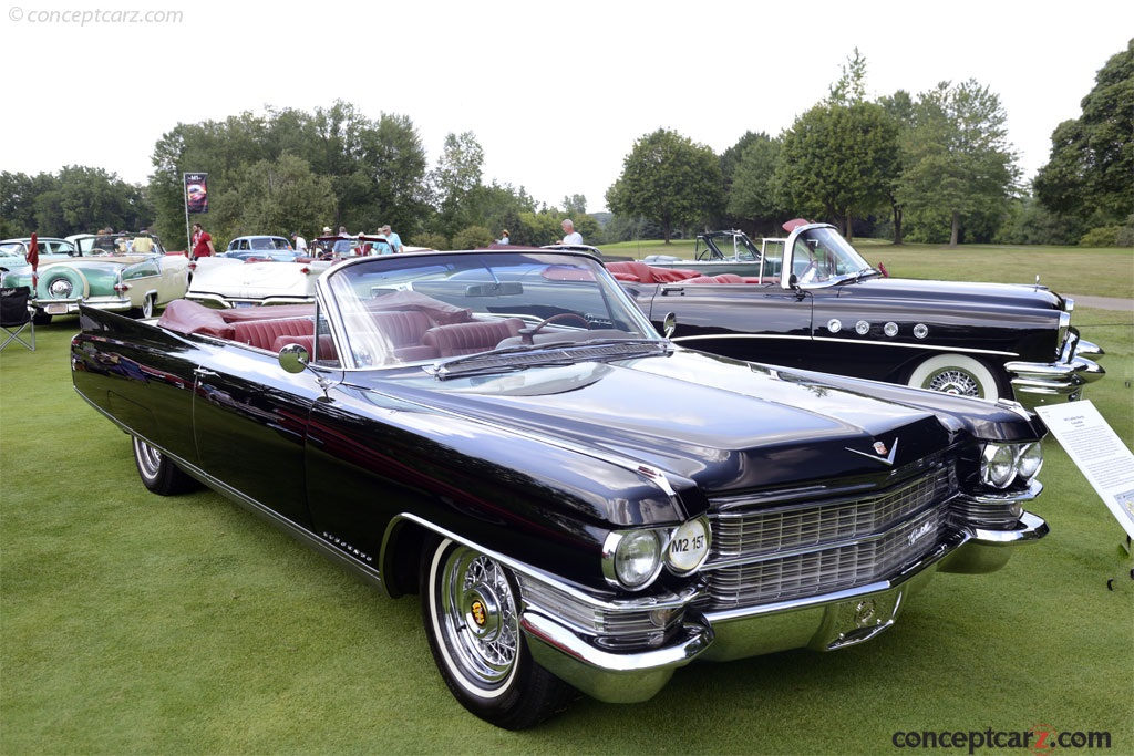 Auction Results and Sales Data for 1963 Cadillac Series 62