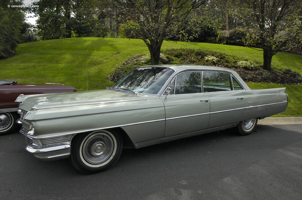 1964 Cadillac Series 62 DeVille History, Pictures, Sales Value ...