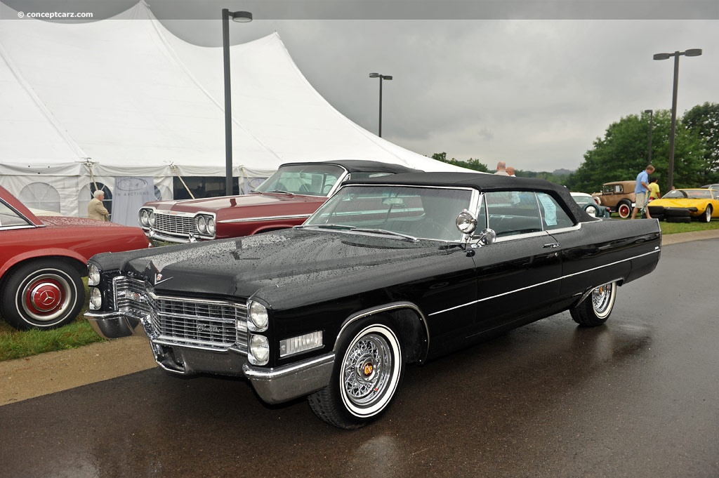 1966 Cadillac DeVille Image. Chis number B6536929. Photo 32 of 38
