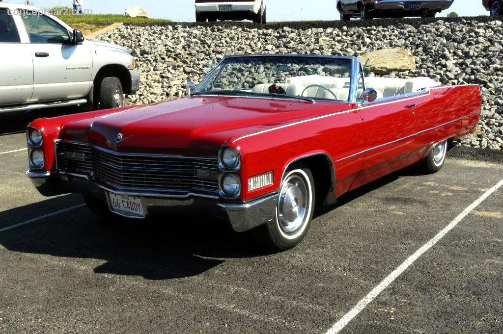 1966 Cadillac DeVille Image. Photo 37 of 38