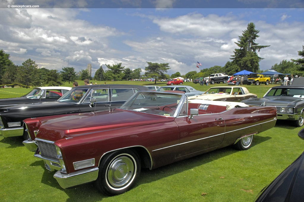 Auction Results And Data For 1968 Cadillac Deville