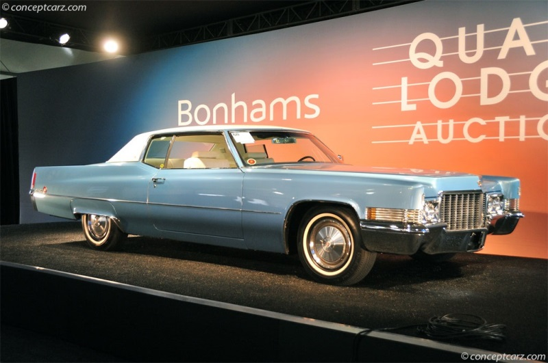 Chassis J0332324 1970 Cadillac Deville Series Chassis Information