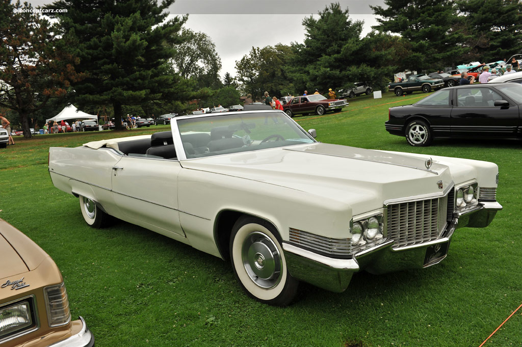 Auction Results and Sales Data for 1970 Cadillac DeVille Series