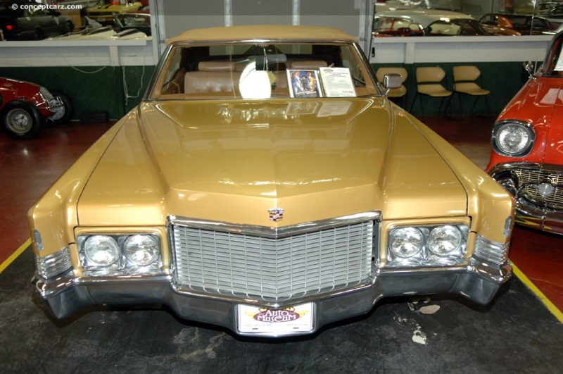 1970 Cadillac DeVille Series chassis information