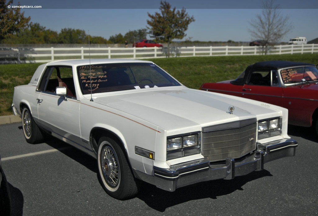 1983 Cadillac Eldorado Technical and Mechanical Specifications